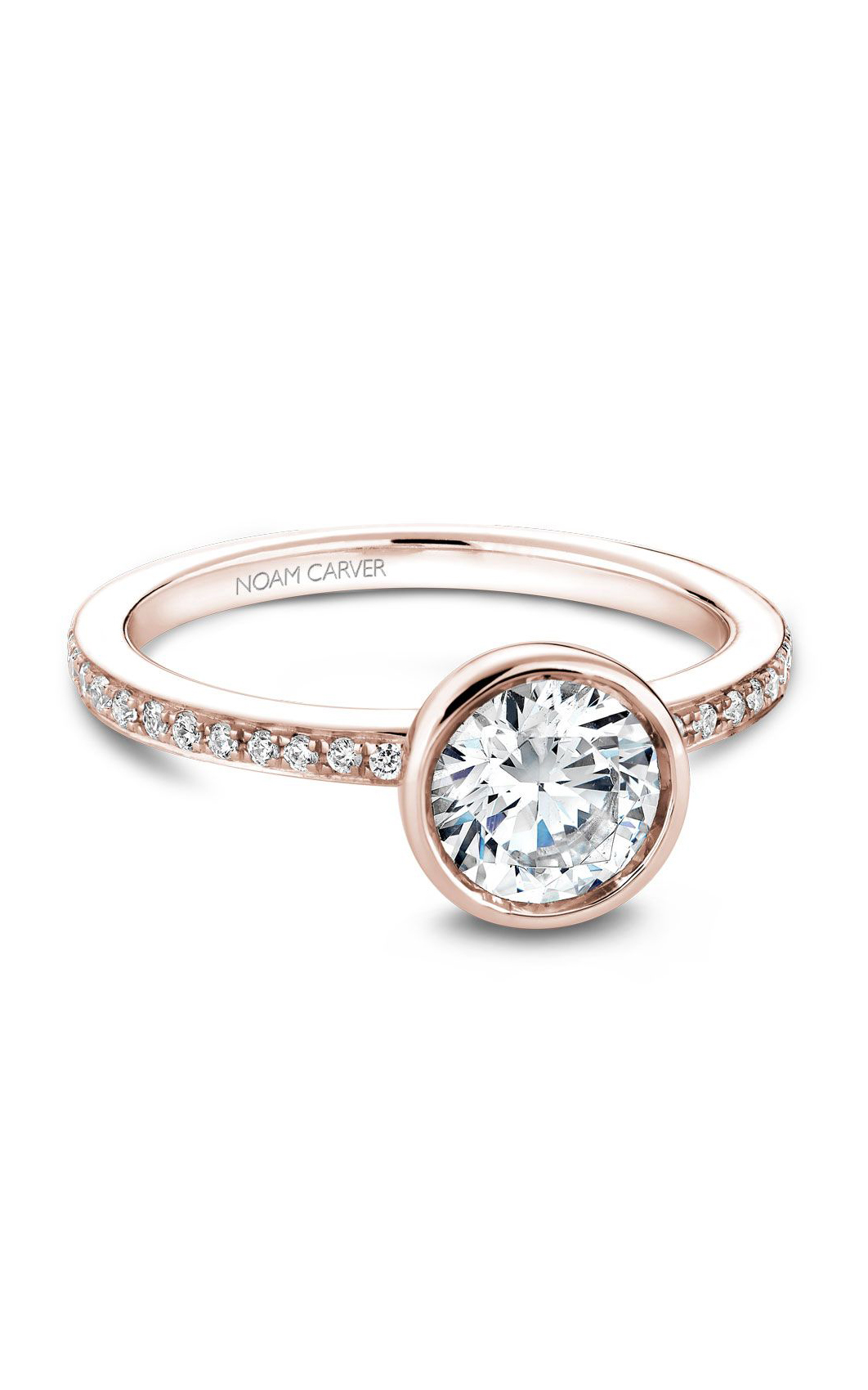 Noam Carver Modern Engagement Ring B095-02RA product image