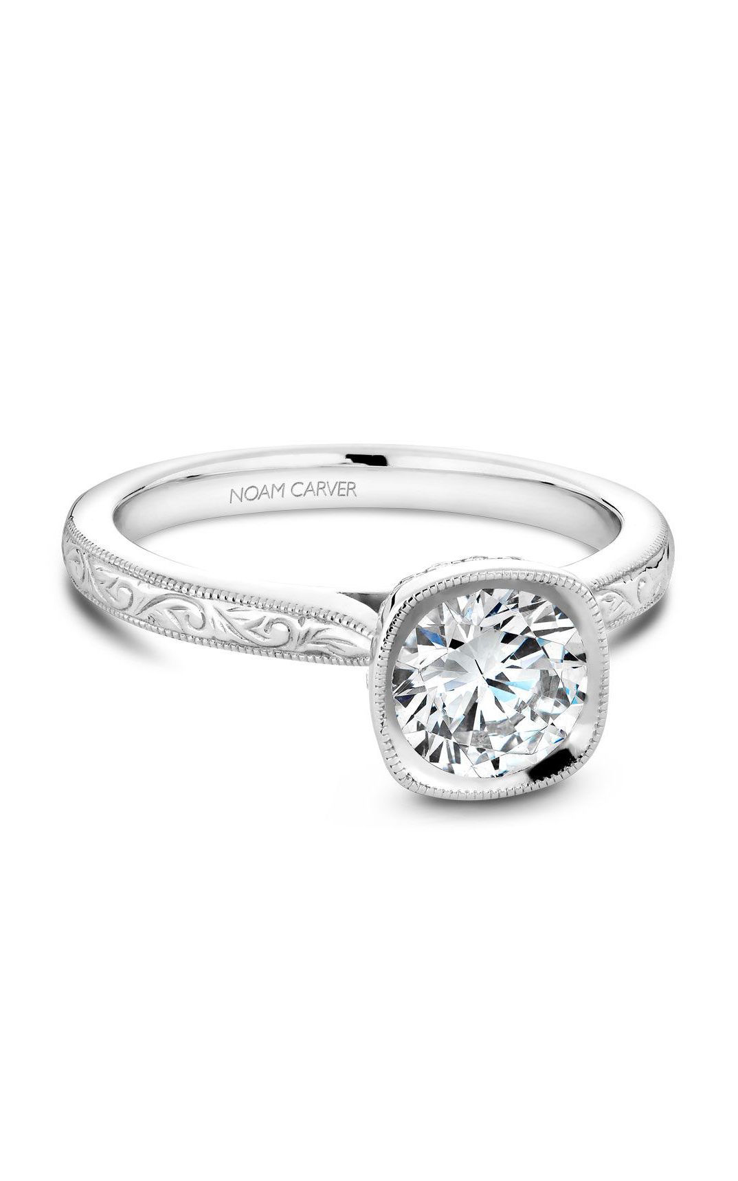 Noam Carver Classic Engagement Ring B140-13EA product image