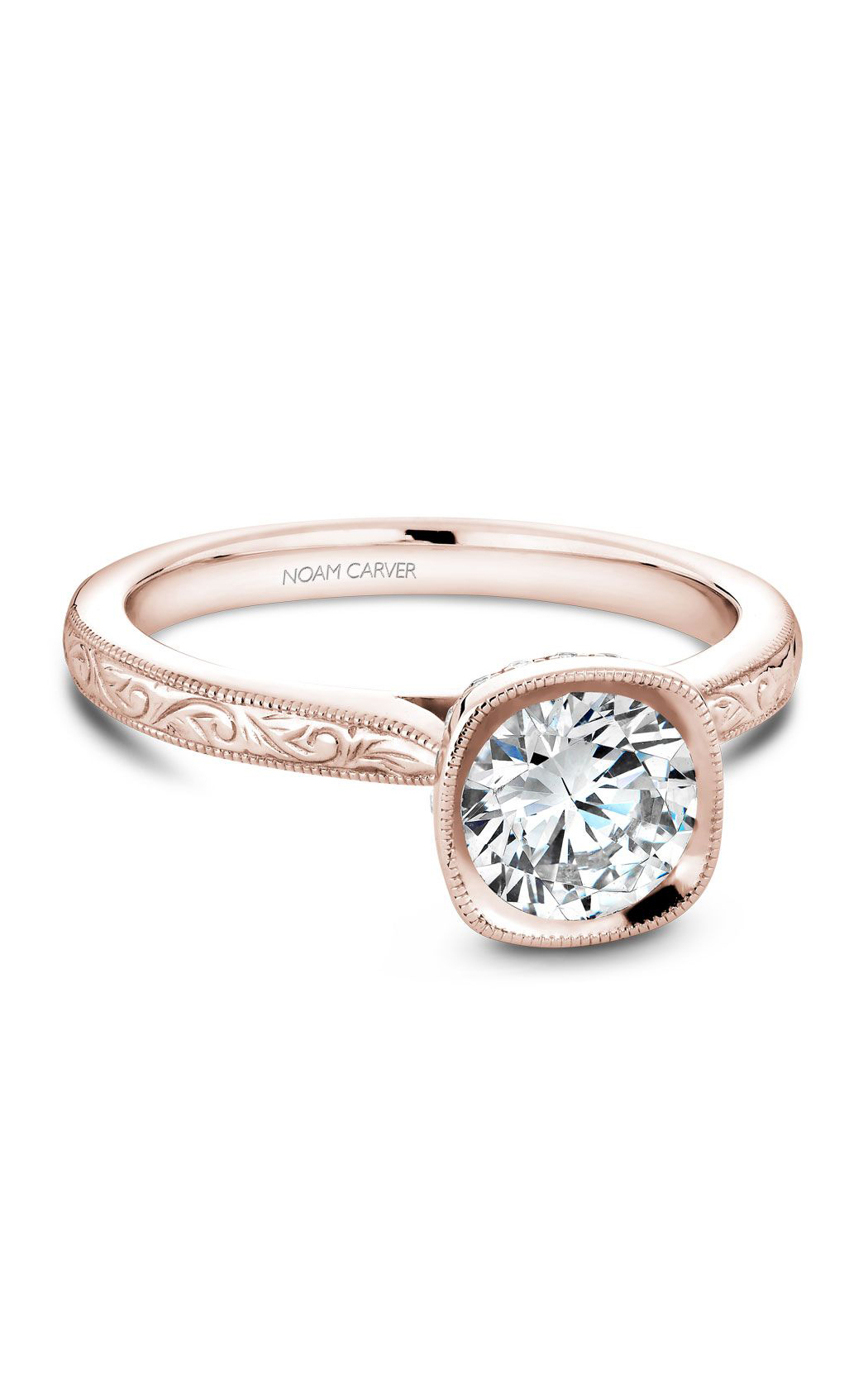 Noam Carver Classic Engagement Ring B140-13REA product image
