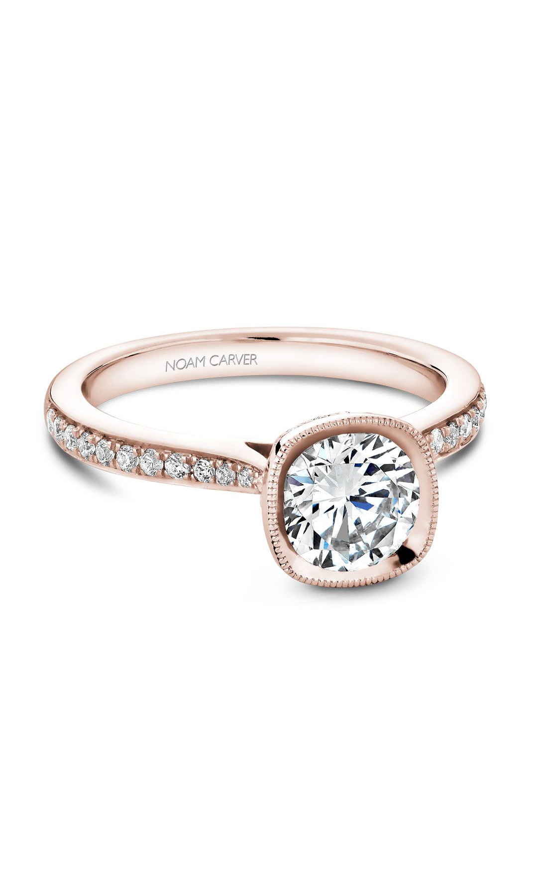 Noam Carver Classic Engagement Ring B141-13RA product image
