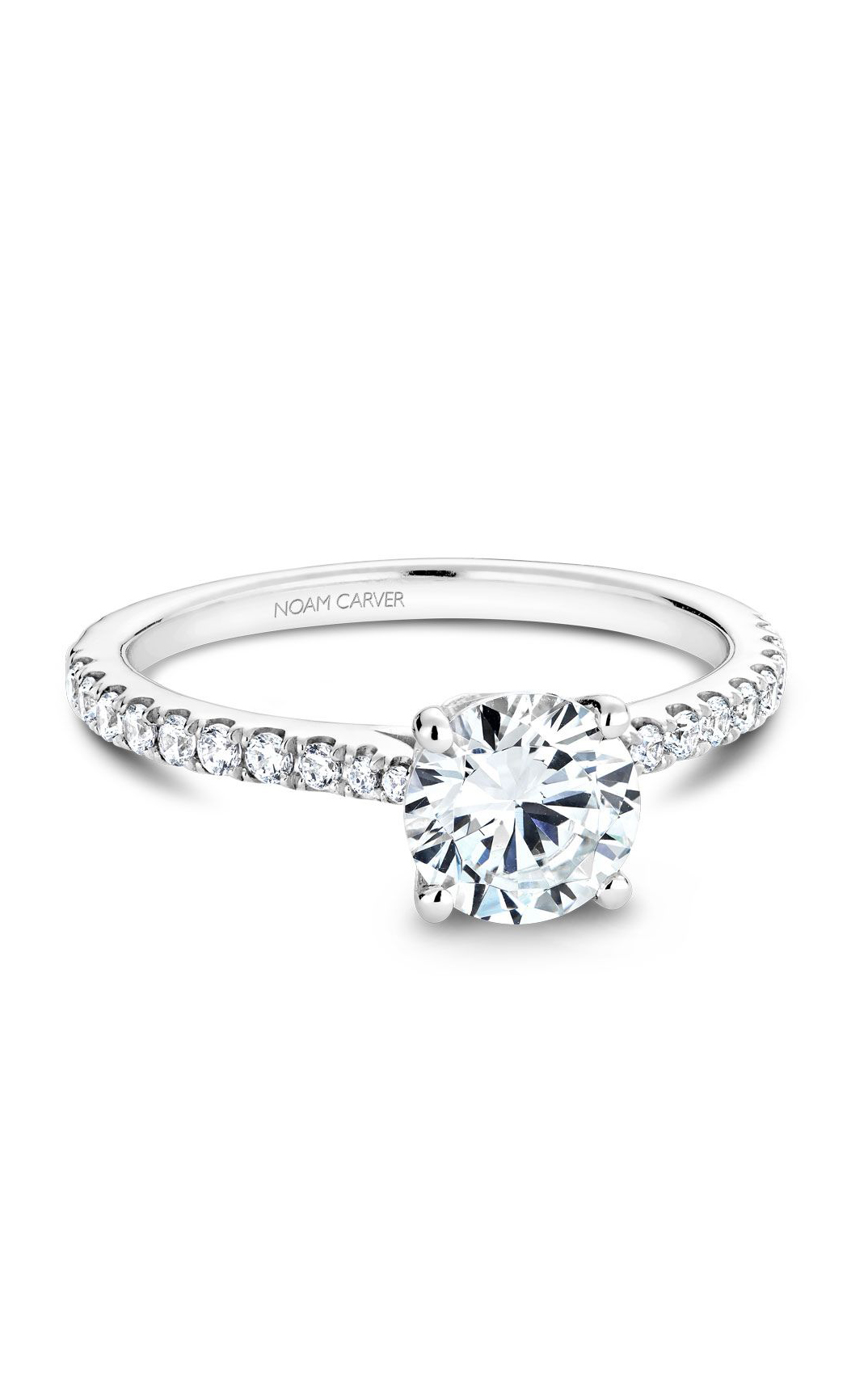 Noam Carver Solitaire Engagement Ring B142-01WM product image