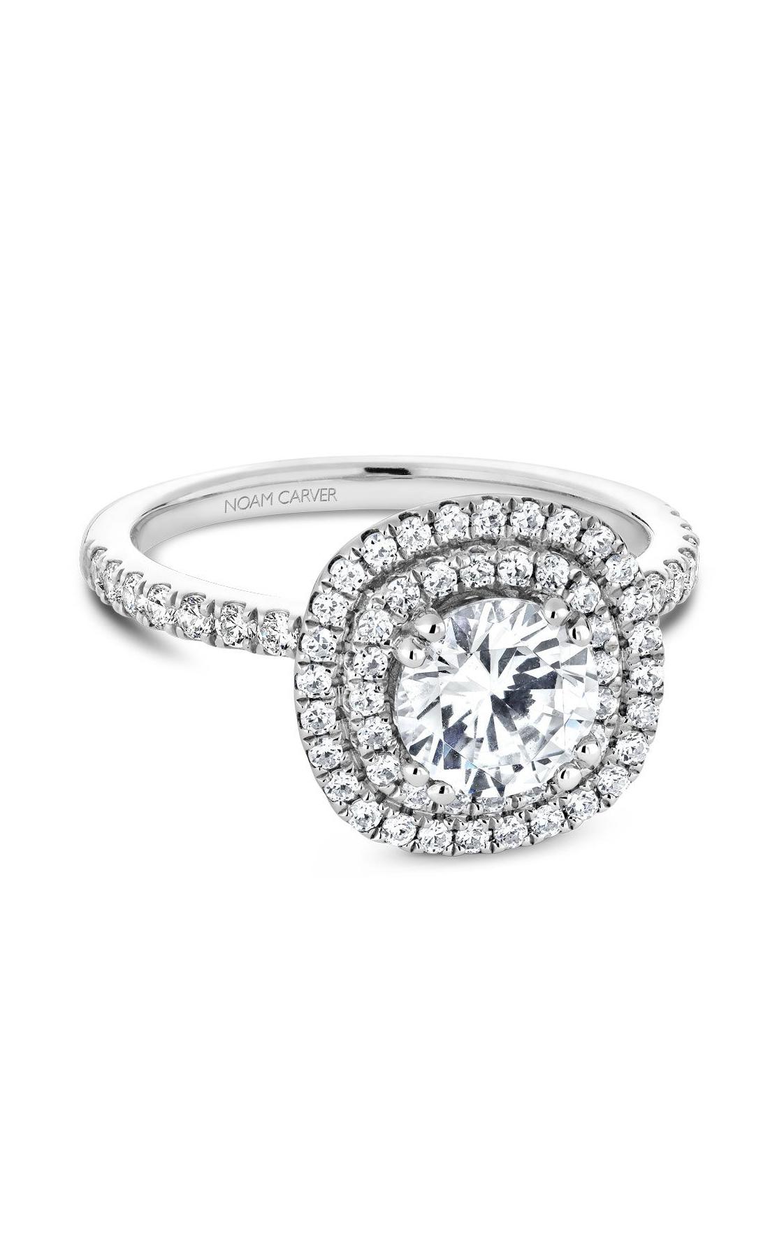 Noam Carver Halo Engagement Ring B142-08WM product image