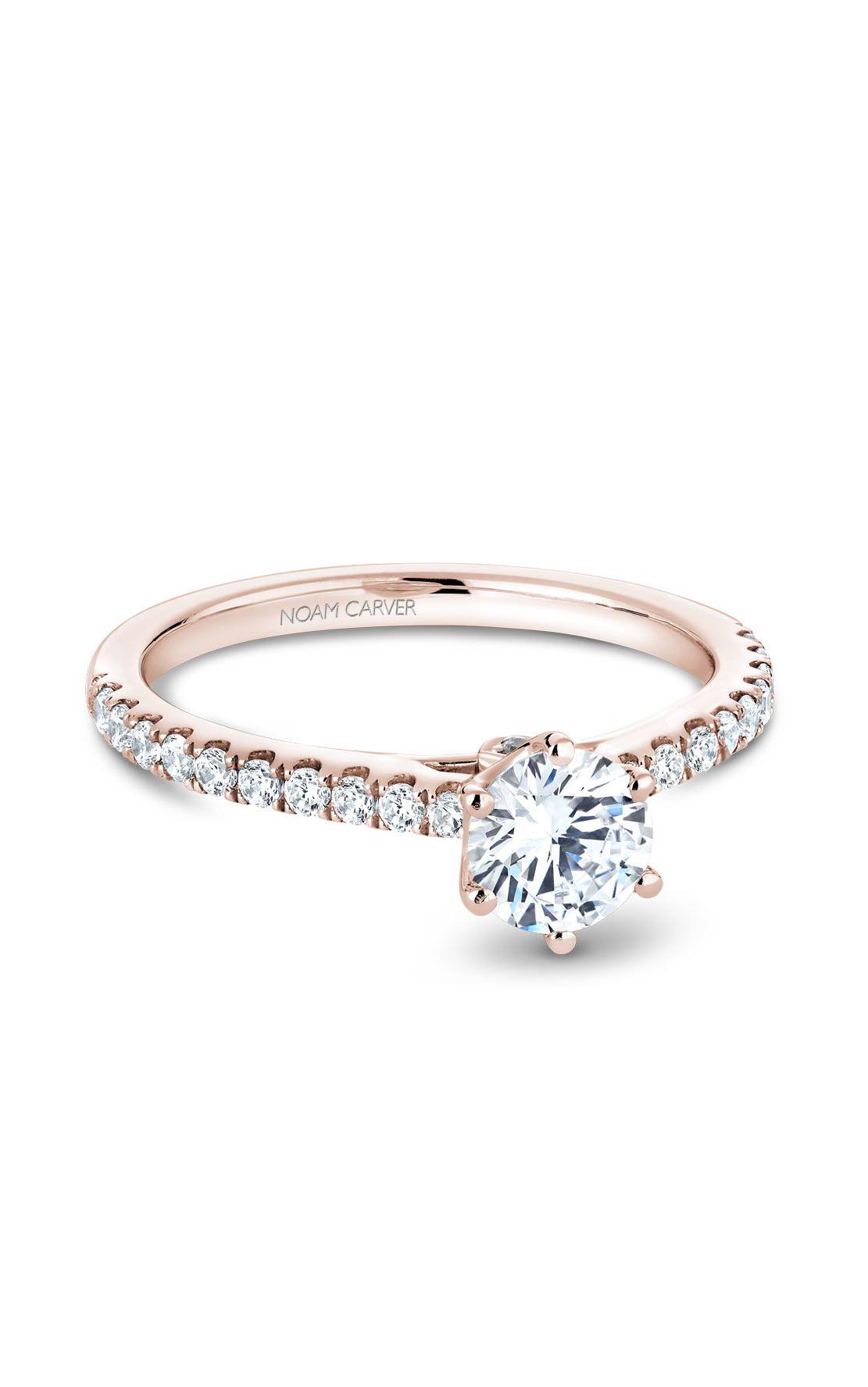 Noam Carver Classic Engagement Ring B142-17RA product image