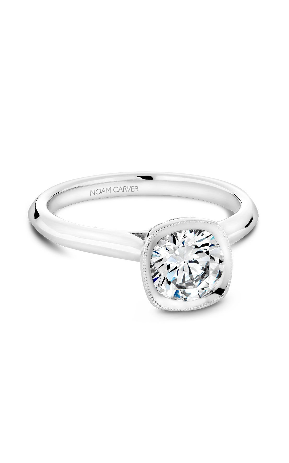 Noam Carver Classic Engagement Ring B143-13A product image