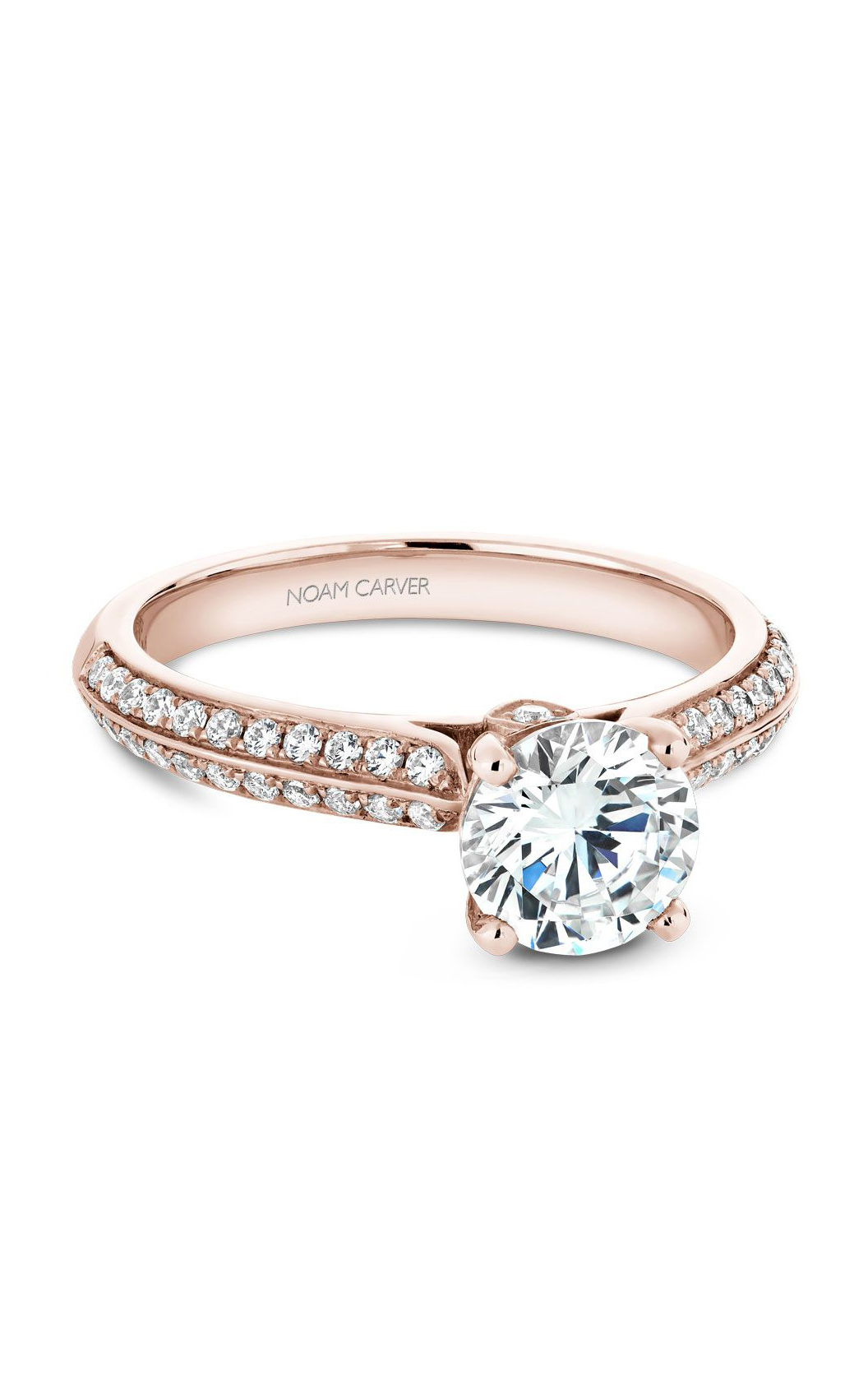 Noam Carver Classic Engagement Ring B144-02RA product image
