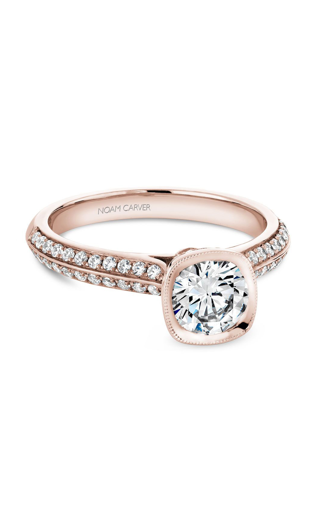 Noam Carver Classic Engagement Ring B144-13RA product image