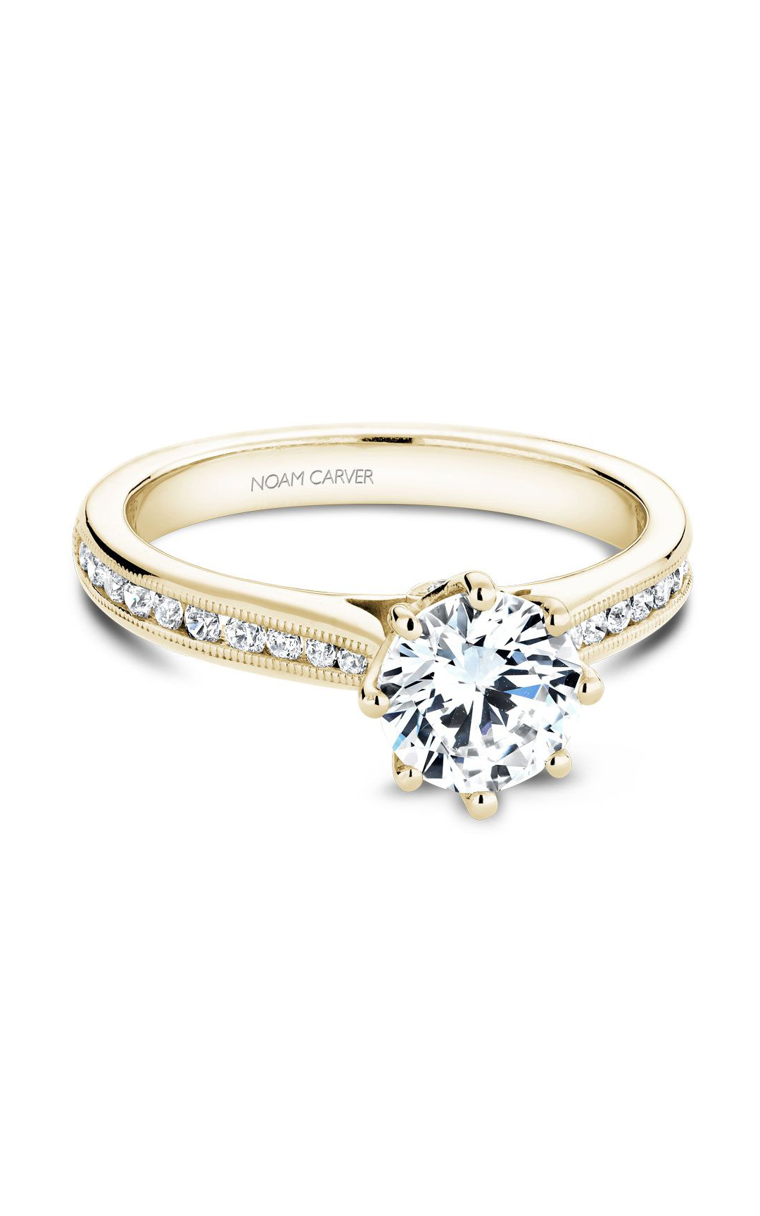 Noam Carver Classic Engagement Ring B145-04YA product image