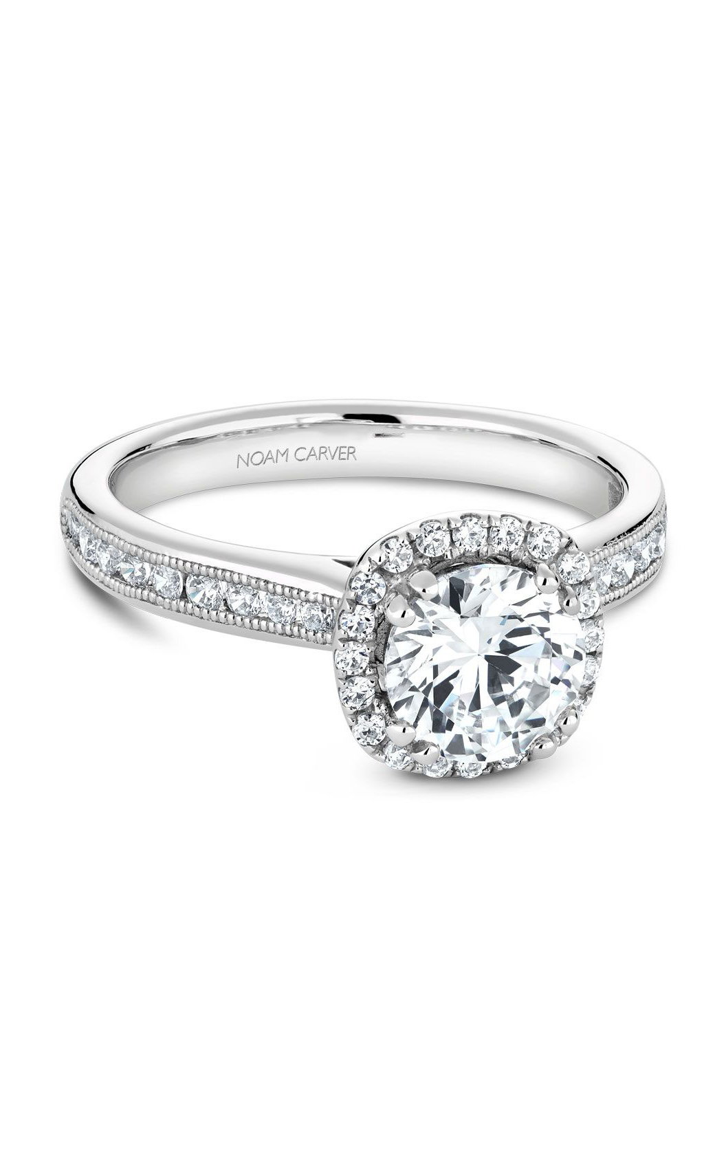 Noam Carver Classic Engagement Ring B145-06A product image