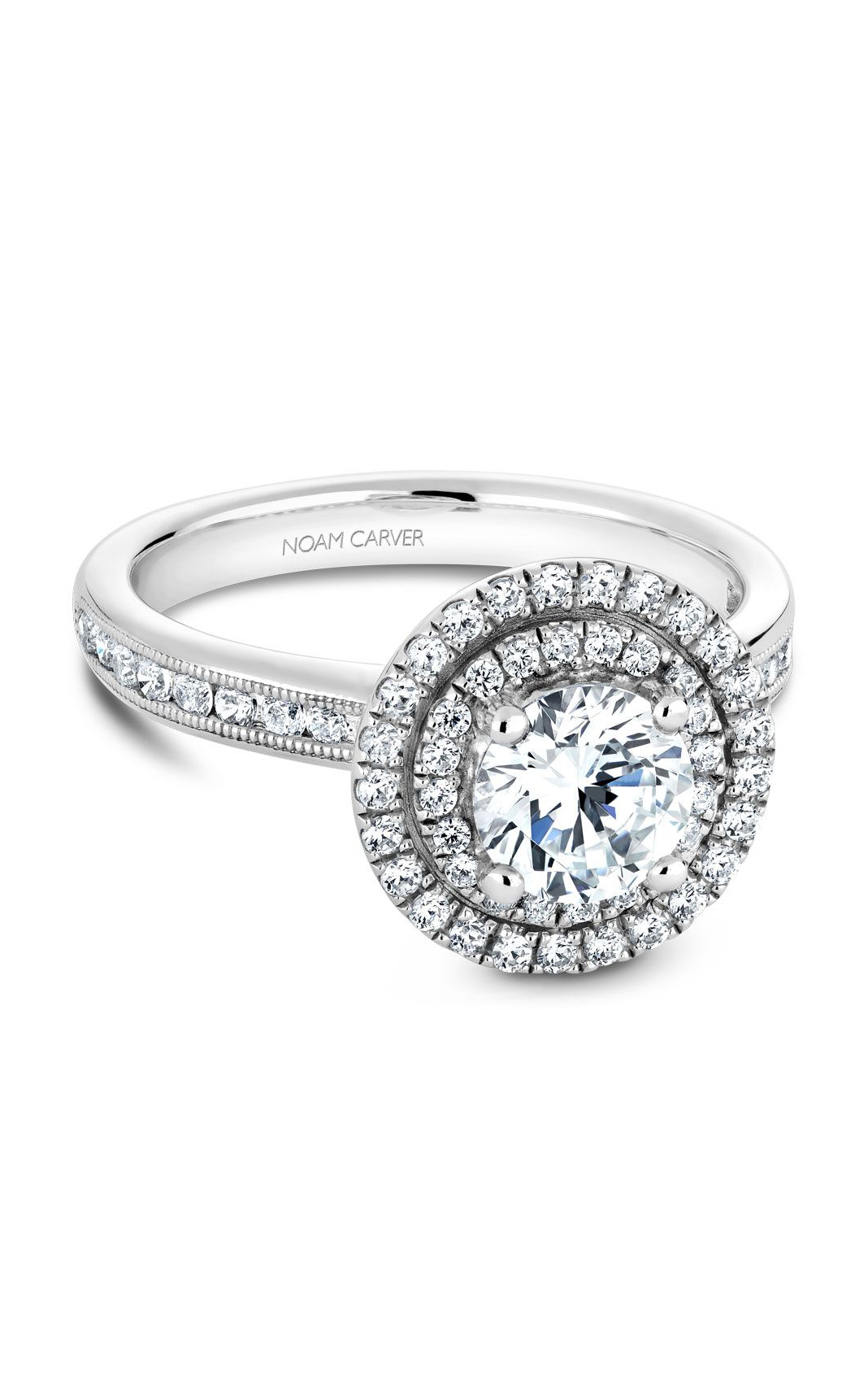 Noam Carver Classic Engagement Ring B145-07A product image