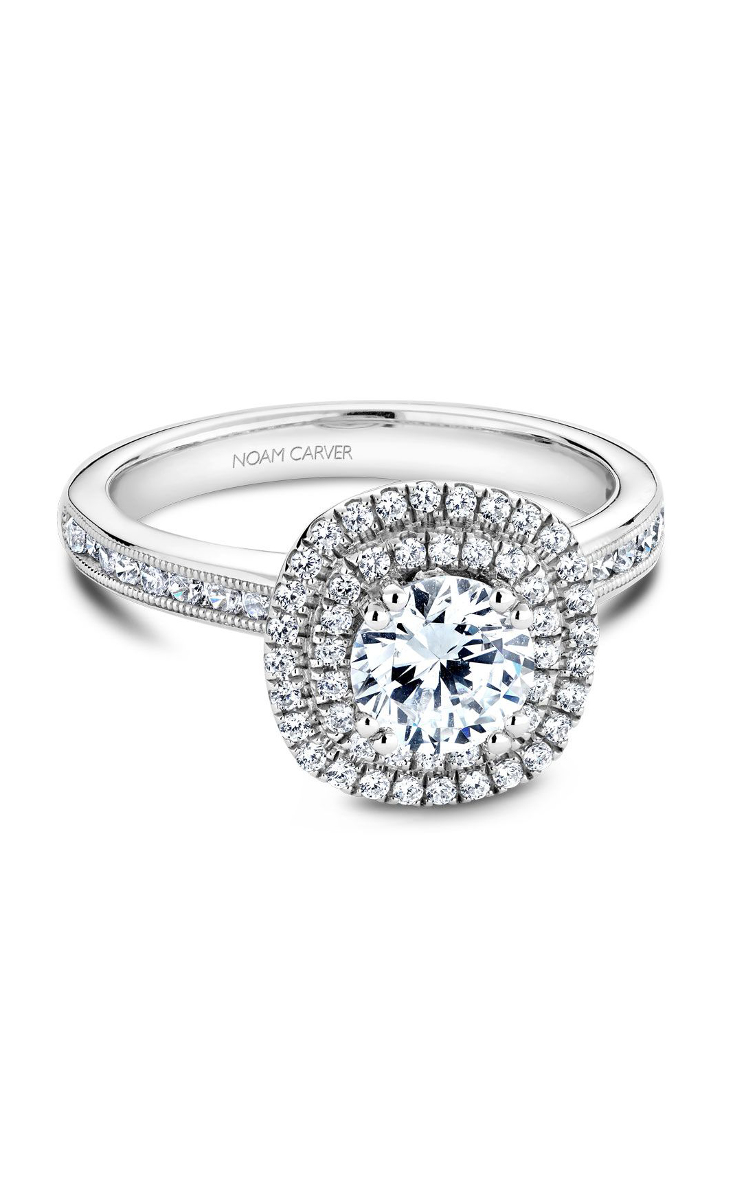 Noam Carver Classic Engagement Ring B145-08A product image