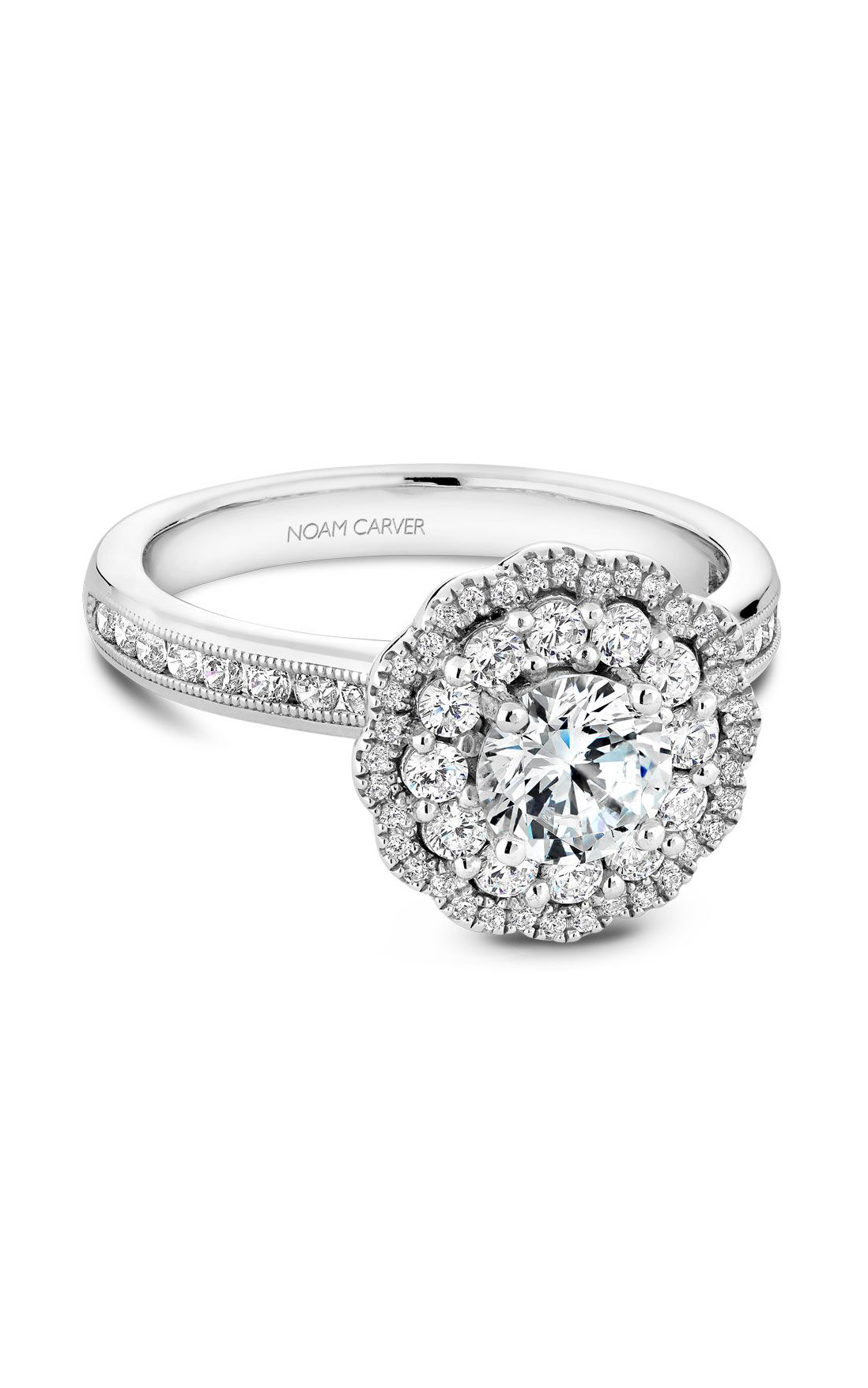 Noam Carver Classic Engagement Ring B145-16A product image