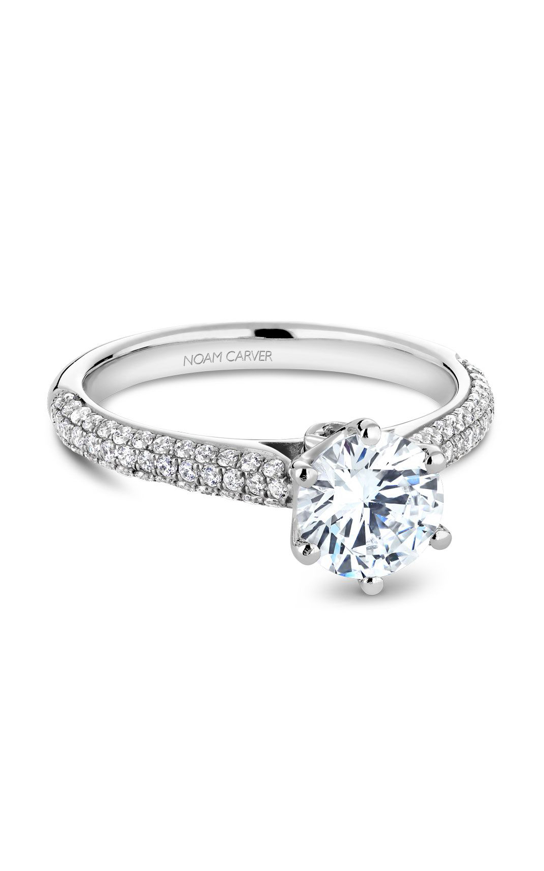 Noam Carver Vintage Engagement Ring B146-17WM product image