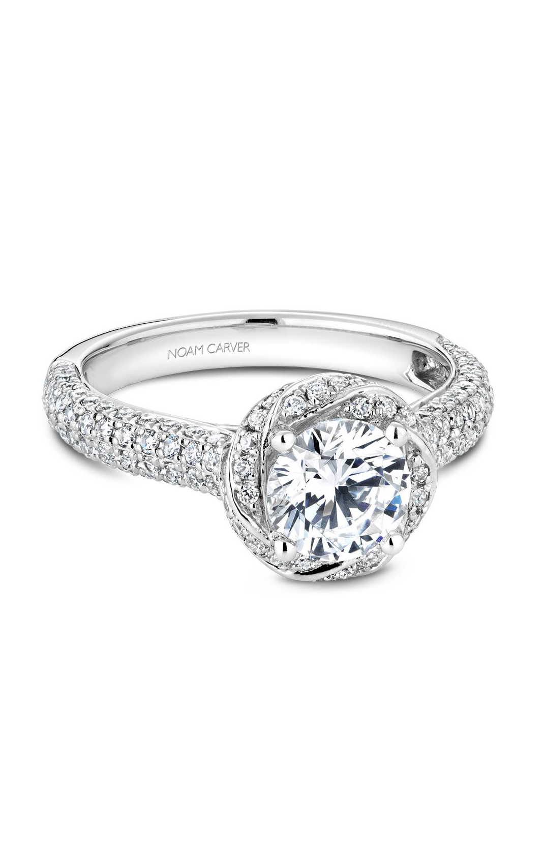 Noam Carver Flora Engagement Ring B164-01WM product image