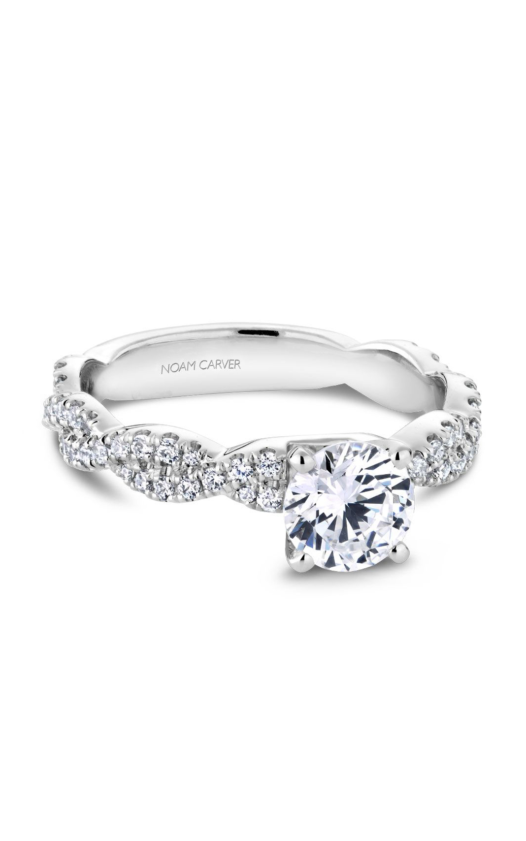 Noam Carver Modern Engagement Ring B166-01A product image