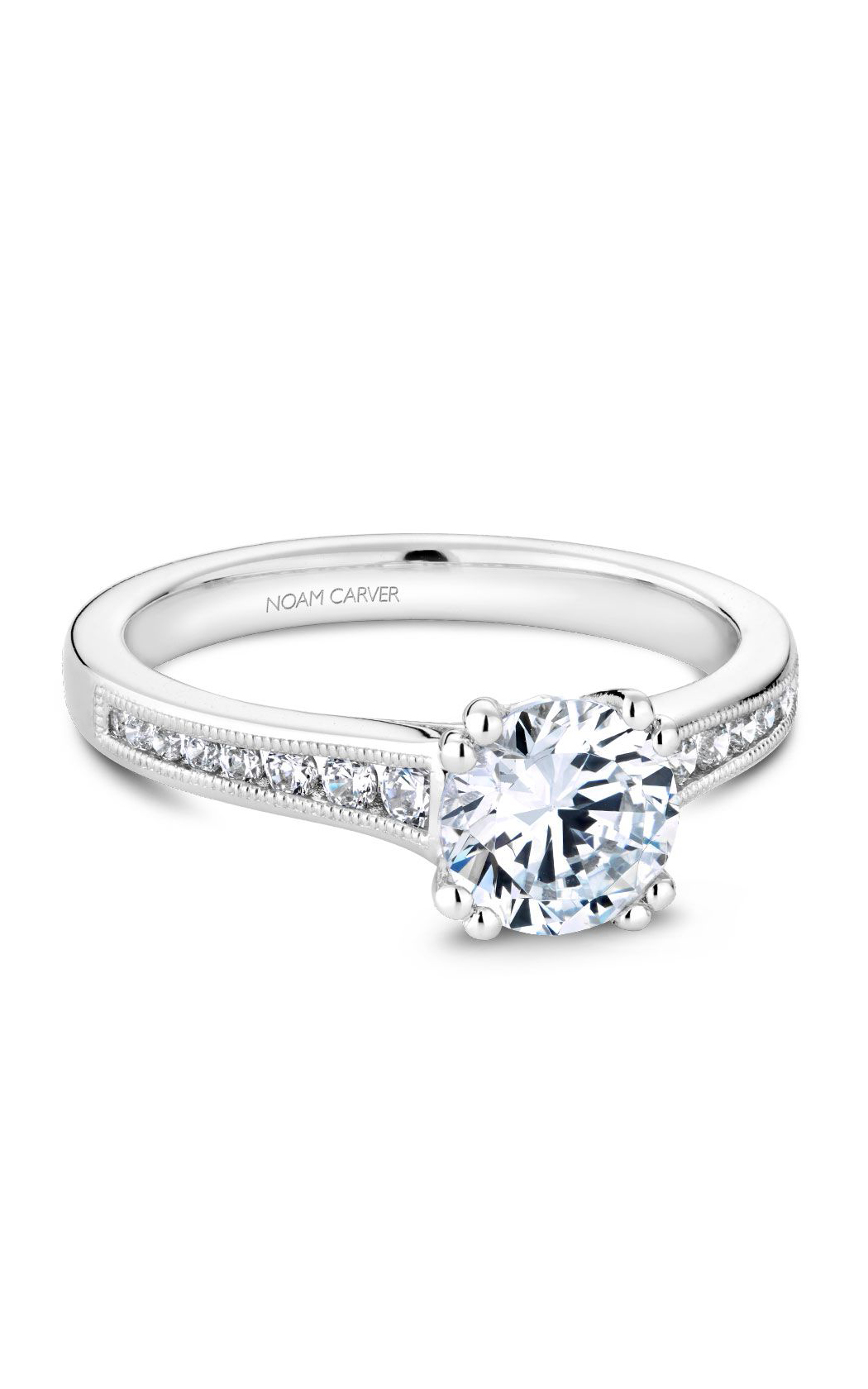 Noam Carver Solitaire Engagement Ring B203-01WM product image