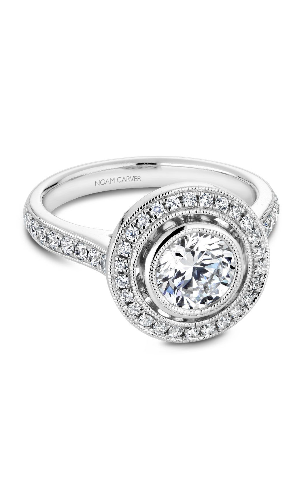Noam Carver Modern Engagement Ring R040-02A product image