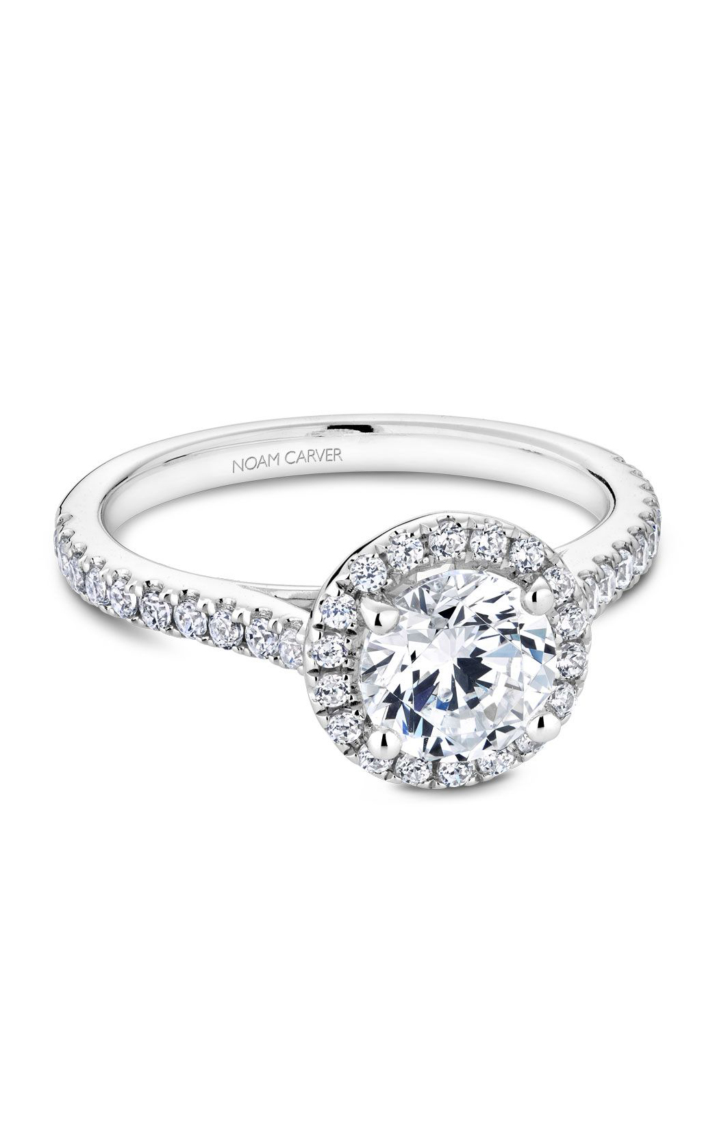 Noam Carver Modern Engagement Ring R050-01A product image