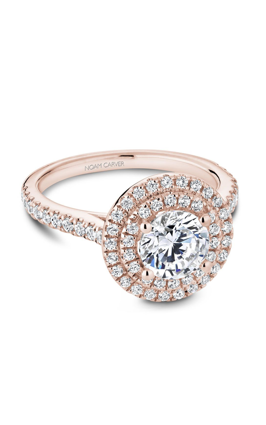 Noam Carver Halo Engagement Ring R051-01RM product image