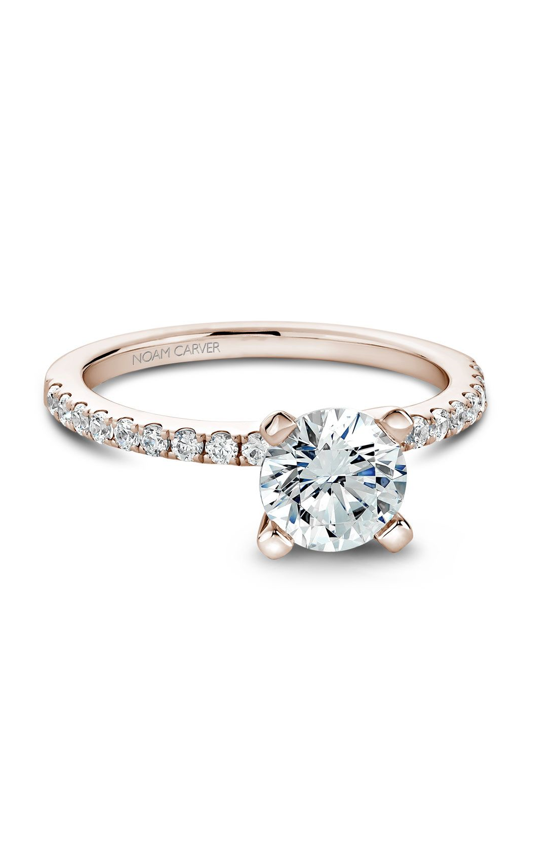 Noam Carver Solitaire Engagement Ring B017-01RM product image
