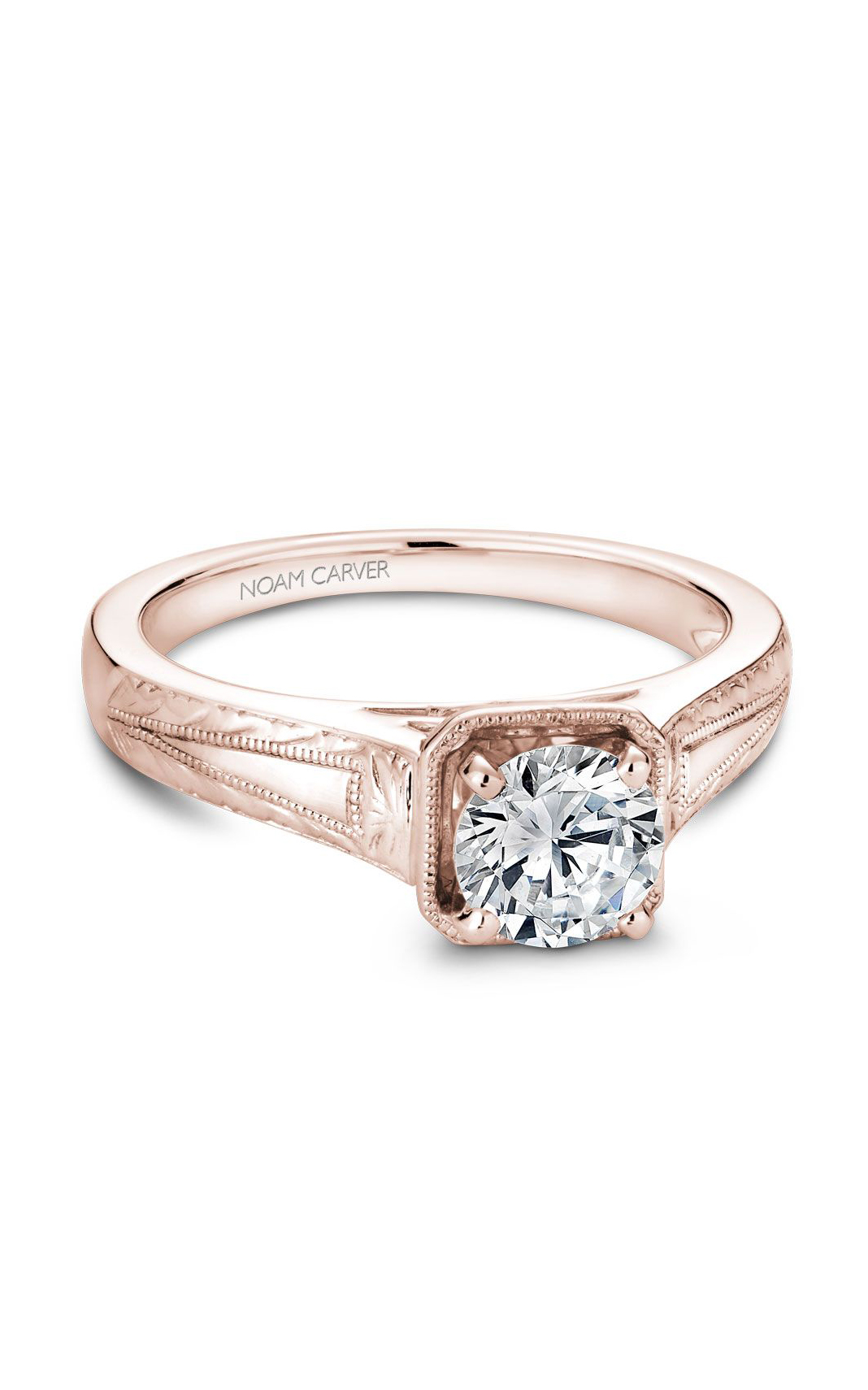 Noam Carver Vintage Engagement Ring B078-01RM product image