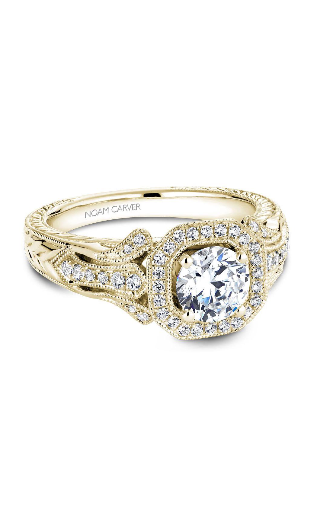 Noam Carver Vintage Engagement Ring B079-01YM product image