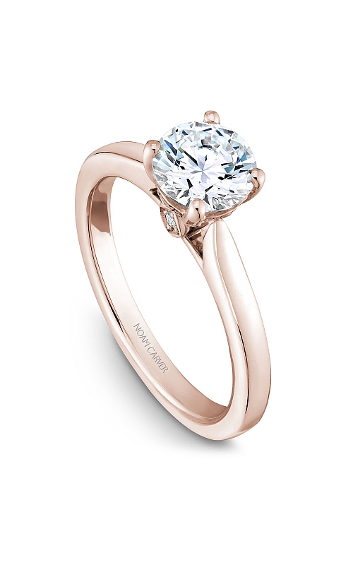 Noam Carver Solitaire Engagement Ring B140-01RM product image