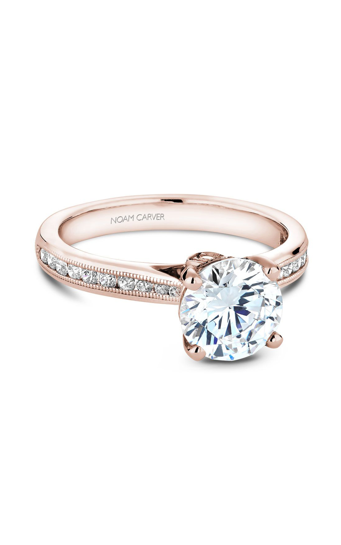Noam Carver Solitaire Engagement Ring B145-02RM product image