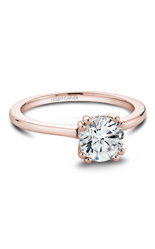 Noam Carver Solitaire Engagement Ring B004-04RWM product image