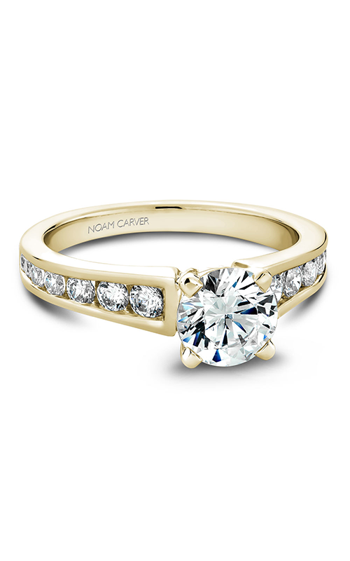 Noam Carver Solitaire Engagement Ring B006-01YM product image