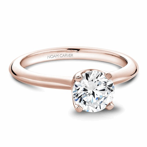 Noam Carver Solitaire Engagement Ring B027-01RM product image