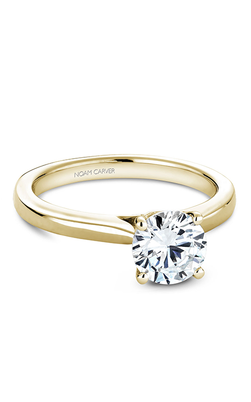 Noam Carver Solitaire Engagement Ring B140-01YM product image