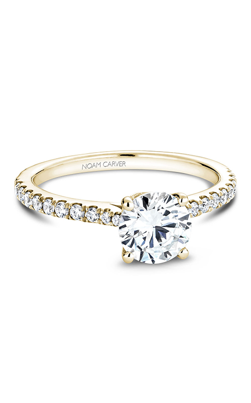 Noam Carver Solitaire Engagement Ring B142-01YM product image