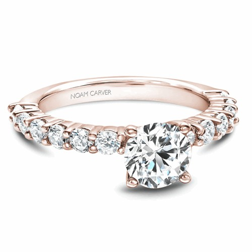 Noam Carver Solitaire Engagement Ring B178-02RM product image