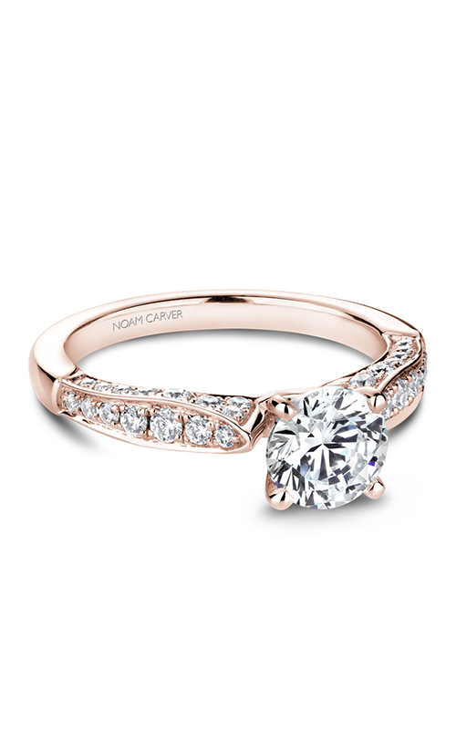 Noam Carver Solitaire Engagement Ring B202-01RM product image