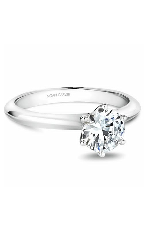Noam Carver Solitaire Engagement Ring B102-02WM product image