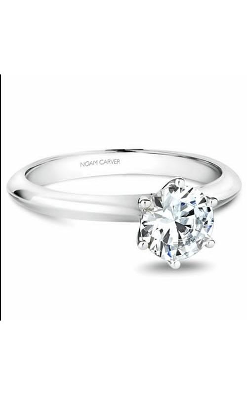 Noam Carver Solitaire Engagement Ring B102-02WM product image
