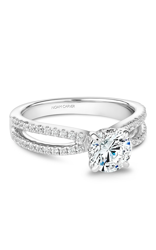 Noam Carver Solitaire Engagement Ring B235-01WM product image