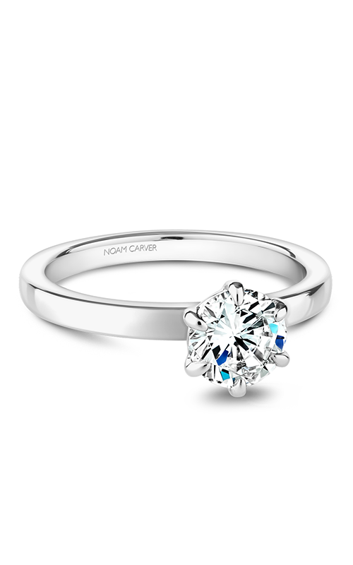 Noam Carver Solitaire Engagement Ring B245-01WM product image