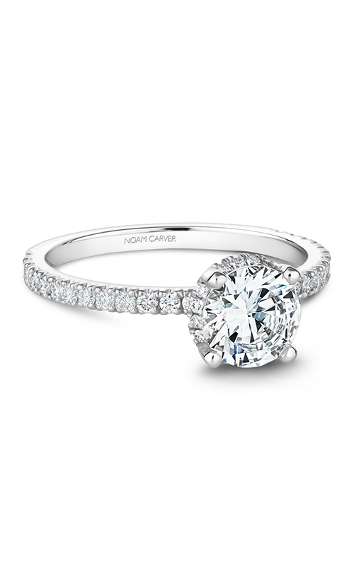 Noam Carver Solitaire Engagement Ring B263-01WM product image