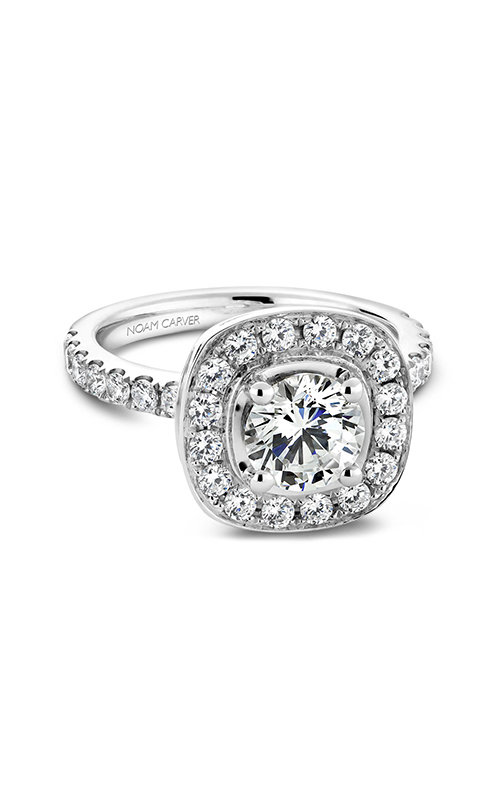 Noam Carver Halo Engagement Ring B011-01WM product image