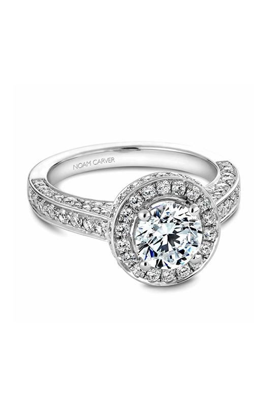 Noam Carver Halo Engagement Ring B030-01WM product image