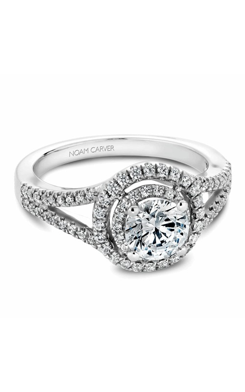 Noam Carver Halo Engagement Ring B100-01WM product image