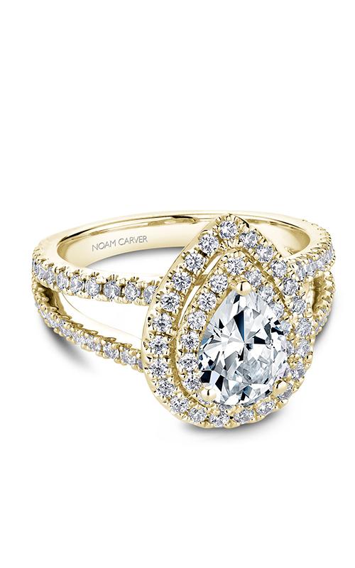 Noam Carver Halo Engagement Ring B211-01YM product image
