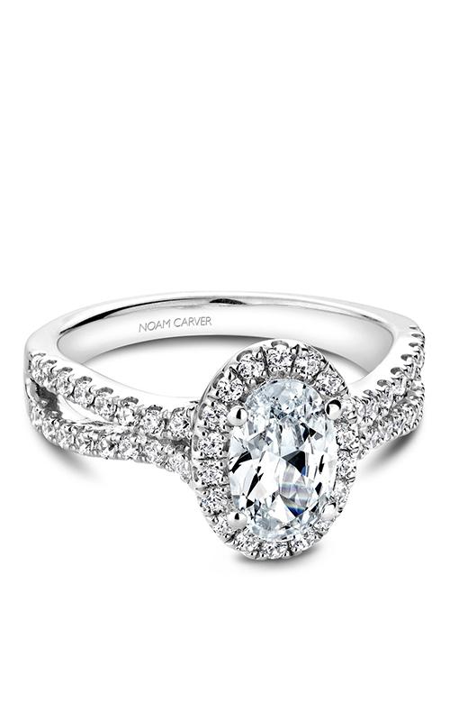 Noam Carver Halo Engagement Ring B215-01WM product image