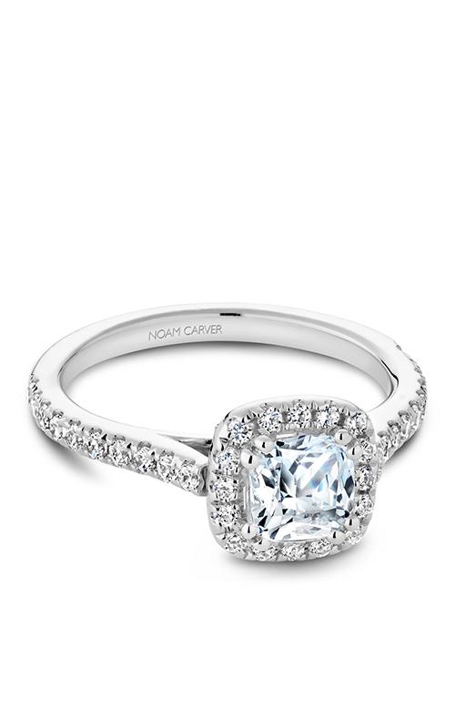 Noam Carver Halo Engagement Ring R050-05WM product image
