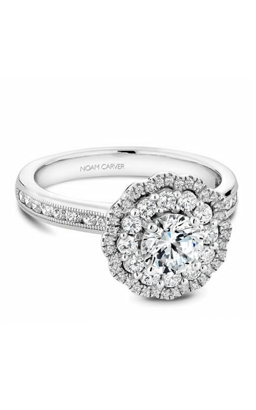 Noam Carver Floral Engagement Ring B145-16WM product image