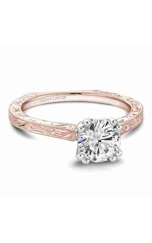 Noam Carver Vintage Engagement Ring B001-02RWME product image
