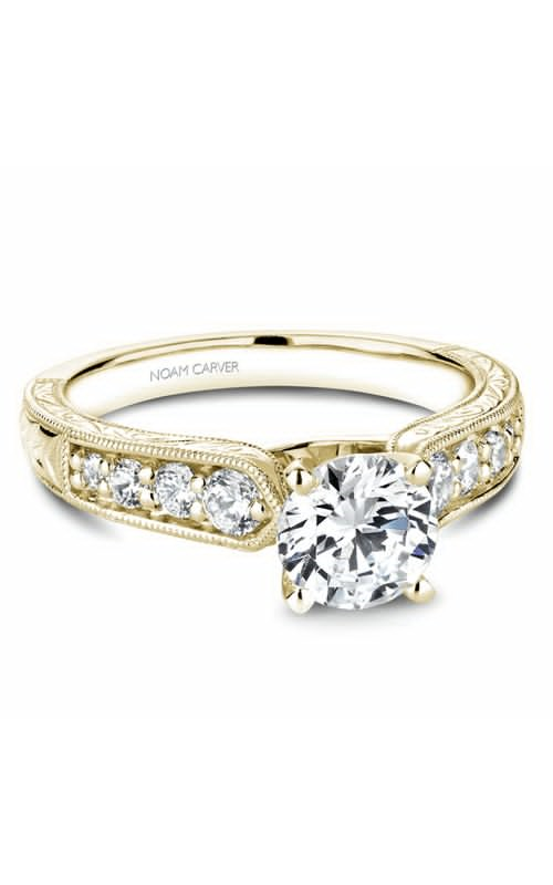 Noam Carver Modern Engagement Ring B174-01YM product image