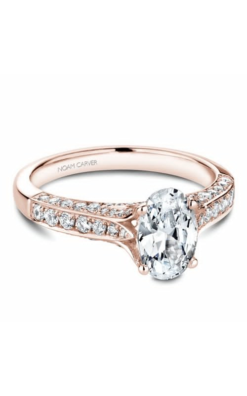 Noam Carver Modern Engagement Ring B187-01RM product image