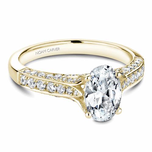 Noam Carver Modern Engagement Ring B187-01YM product image